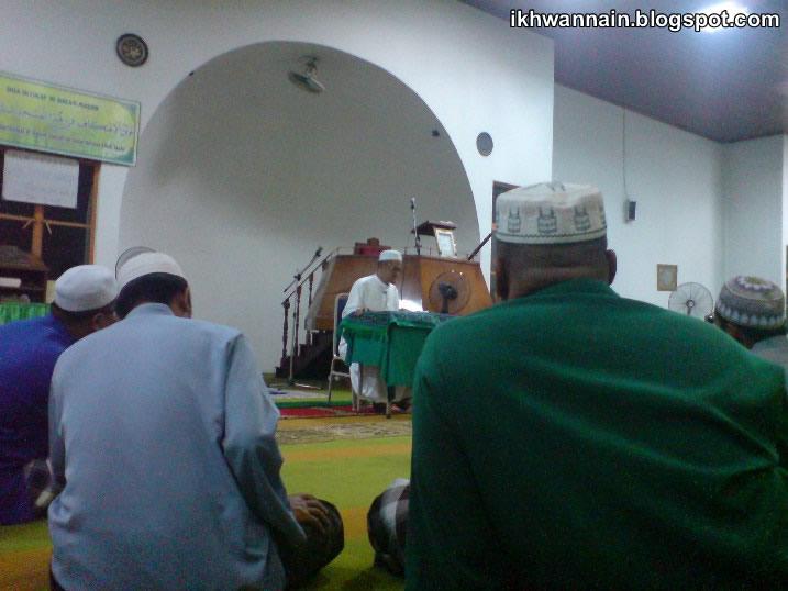 Ceramah Bulanan Masjid Telekom, Telipok