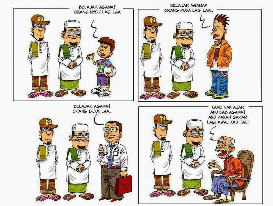 Bila Diajak Belajar Agama