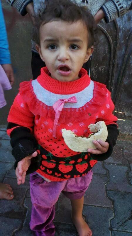 """Gaza : Projek Bantuan Makanan """"Feed a Kid"""""""