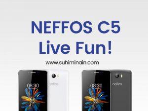Neffos C5 Live Fun – Smartphone Terbaik TP-Link