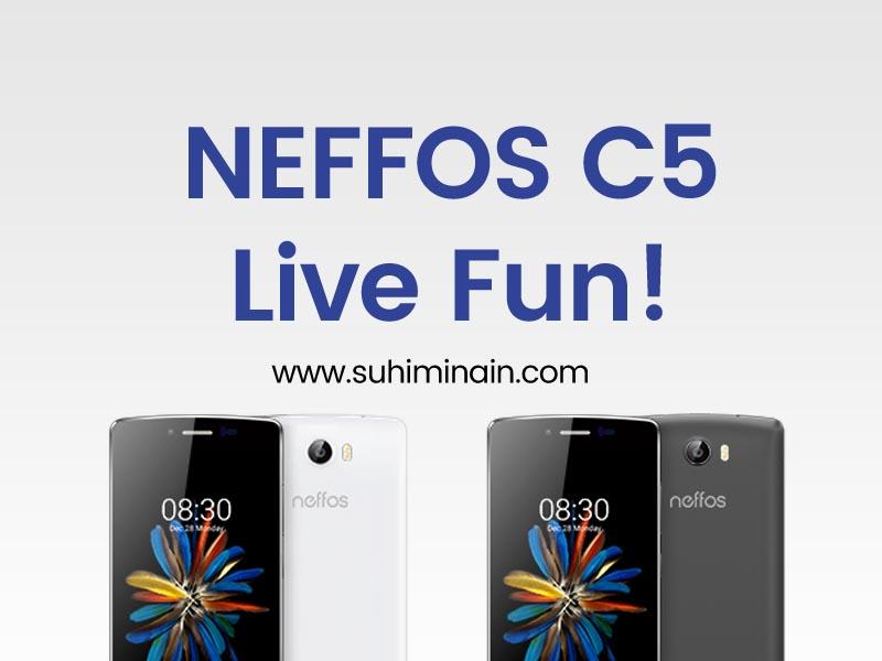 neffos c5 live