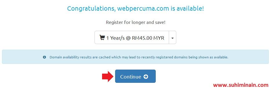 cara beli domain dan hosting netkl 4