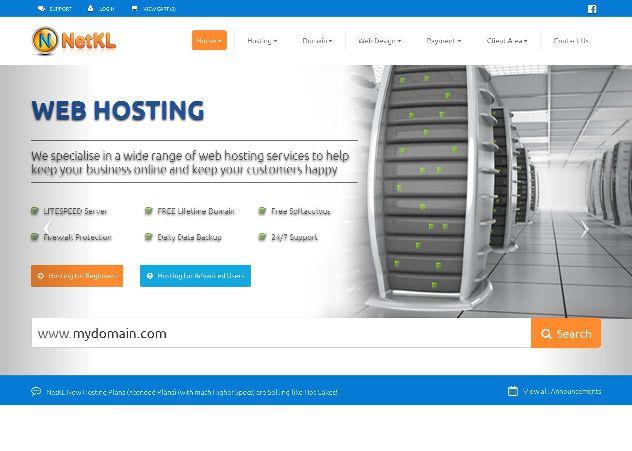 cara beli domain dan hosting netkl