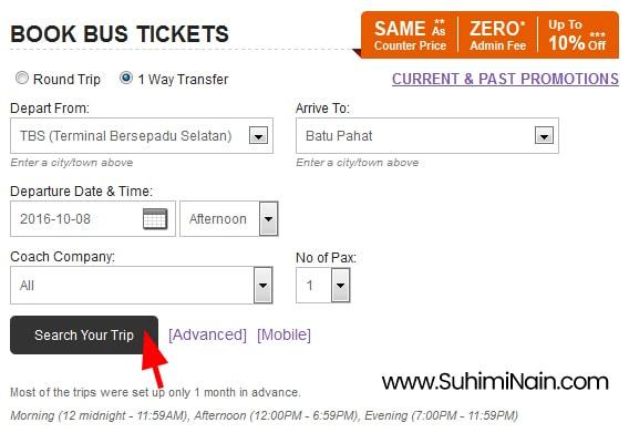 cara beli tiket bas online 2